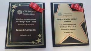 CFA Research Challenge Cert 2016