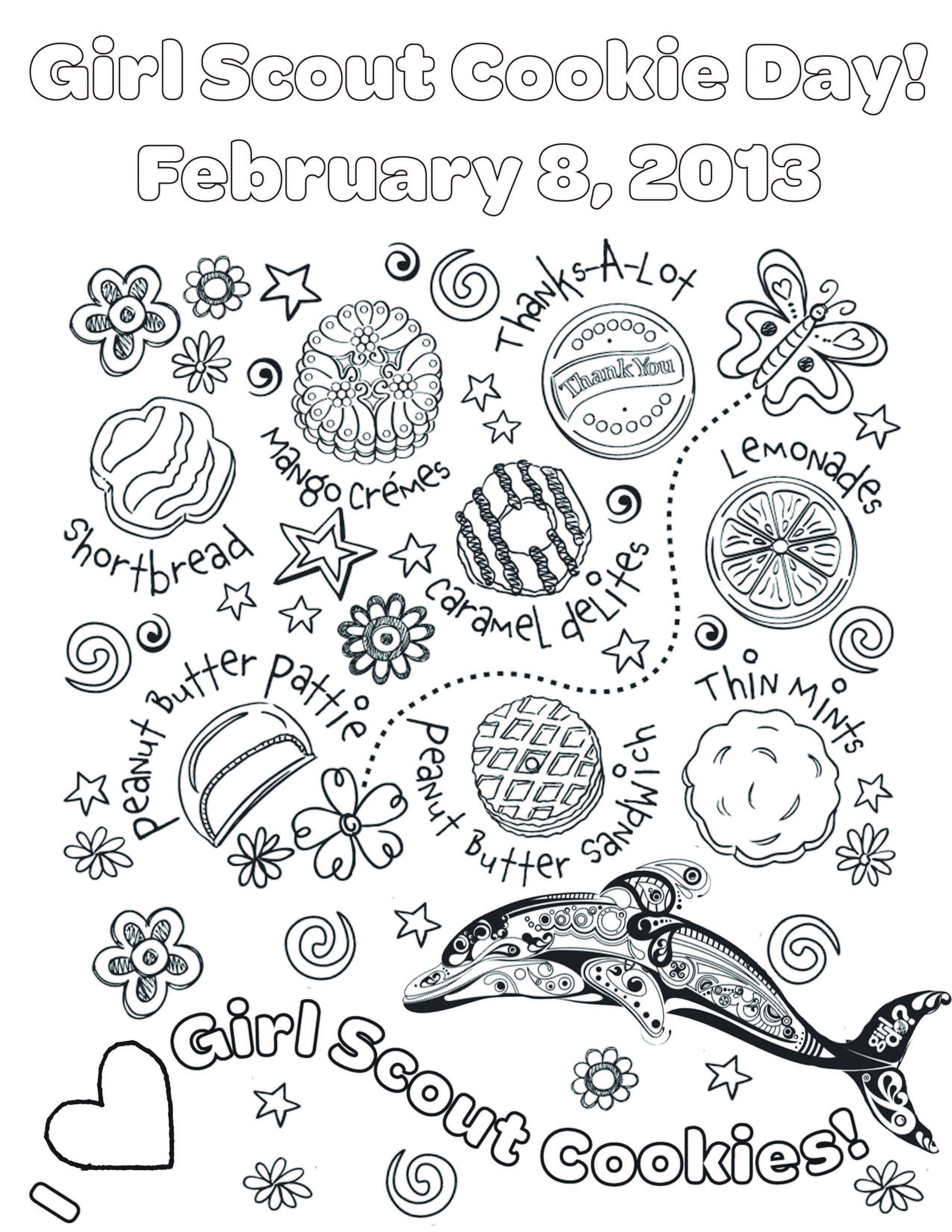 National Girl Scout Cookie Day On Feb 8th