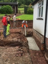 trenches being filled 2