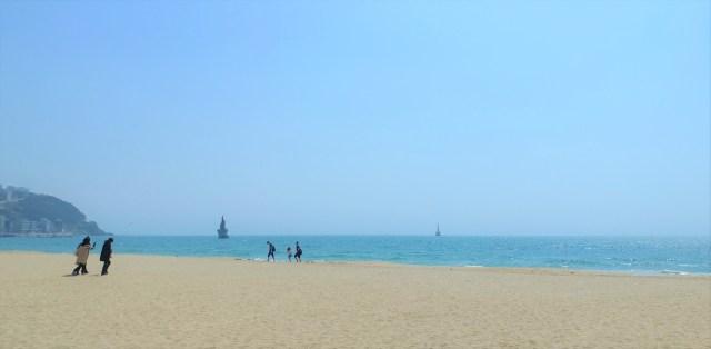 Korea, Travel, Busan, Haeundae Beach