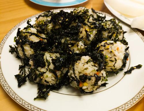 Korean Rice Ball by Busan Host's Wife