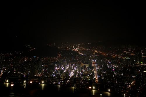 Night view of Busan