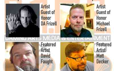 ANNOUNCING ARTIST GUEST OF HONOR & FEATURED