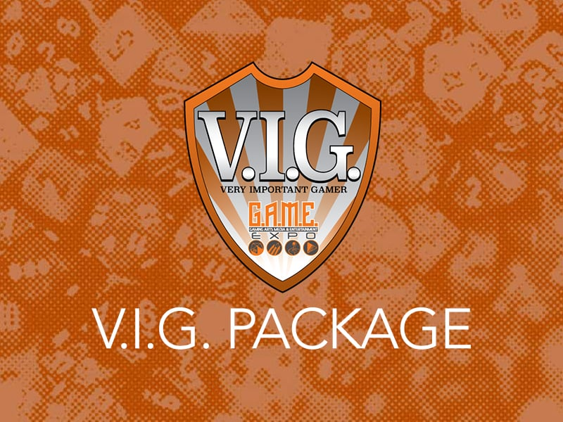 ANNOUNCING V.I.G. PACKAGE
