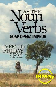 As The Noun Verbs @ Springfield Improv
