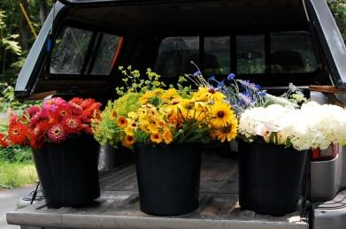 Summer DIY Buckets- photo by Spring Forth Farm