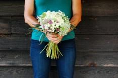 bridal bouquet unwrapped