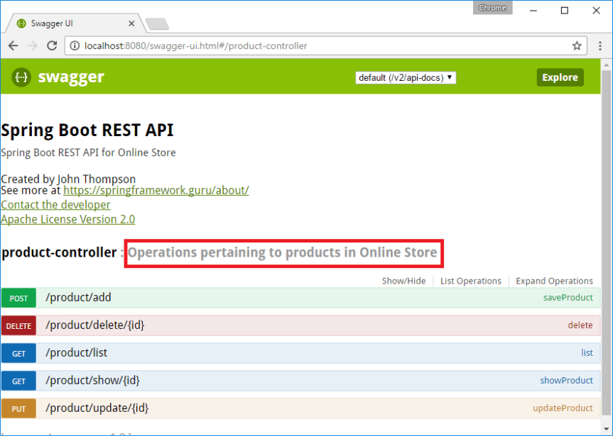Spring Boot RESTful API Documentation With Swagger 2 - DZone