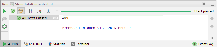 Test Output converting string to int in Java