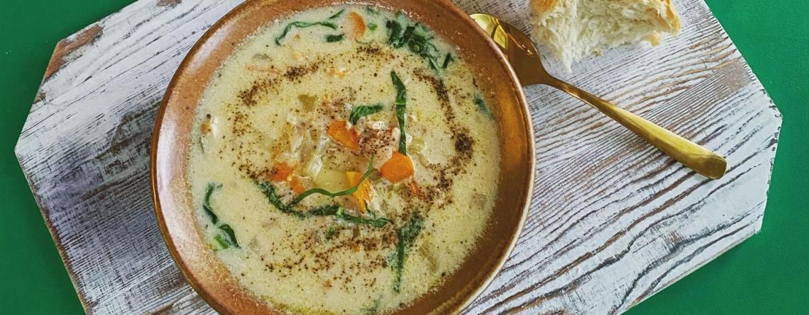 Creamy Chicken & Gnocchi Soup Recipe