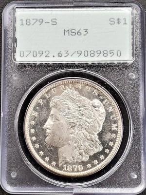 M04-3 1880 Morgan Silver Dollar