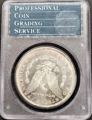 M04-5 1879 Morgan Silver