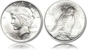 Peace BU Coins Silver Peace Dollar BU -Brilliant Uncirculated Common_Peace_Silver_Dollar_BU