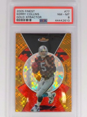 2005 Topps Finest Kerry Collins #77