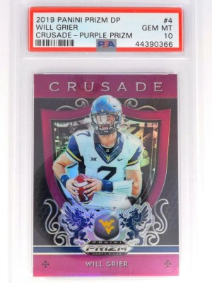 2019 Panini Prizm DP Will Grier #4
