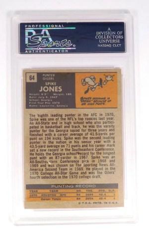 1971 Topps Spike Jones #64