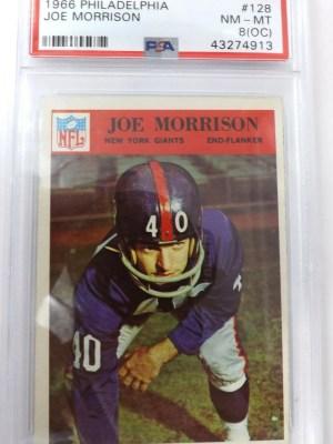 1966 Philadelphia Joe Morrison #128