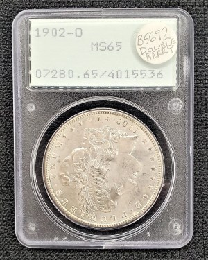 1902-O Morgan Silver Dollar PCGS MS65
