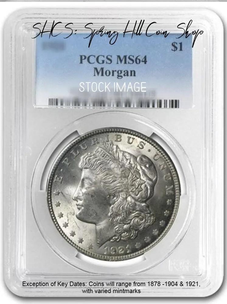 Morgan PCGS MS64 DC