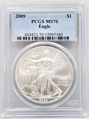 2009 PCGS MS70 ASE SPRING HILL COIN SHOP - WE HAVE ANACS ASE, ICG ASE, PCGS ASE, NGC ASE, MS69, MS70, PF69, PF70, PR69, PR70, BURNISHED, PROOF, ULTRA CAMEO, DEEP CAMEO, AND MORE