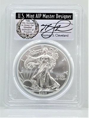 SE34 2020 PCGS MS70 FIRST DAY CLEVELAND DISABLED -1