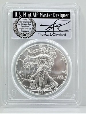 SE40 2020 PCGS MS70 FIRST DAY CLEVELAND DISABLED -1