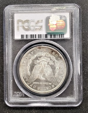 M04-81 1885 Morgan Silver Dollar PCGS MS64
