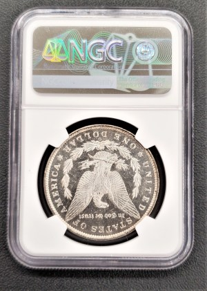 c14: 1885 O Morgan Silver Dollar NGC MS 62 PL