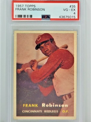 1957 Topps Frank Robinson #35