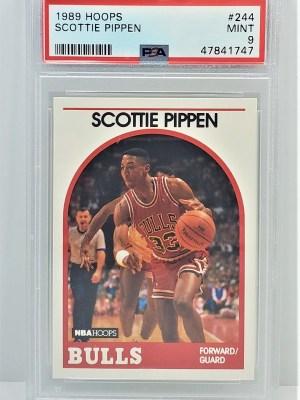 1989 Hoops #244 Scottie Pippen