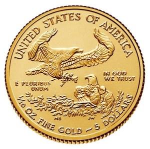 1/10 oz. American Gold Eagle Coins