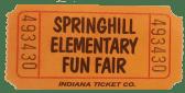 fun fair ticket stub