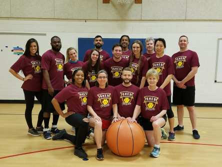 SHE Teachers Basketball Team