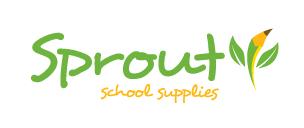 sprout school supplies