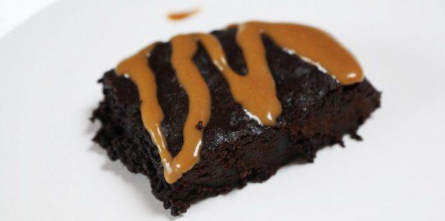Brownies caramel salé