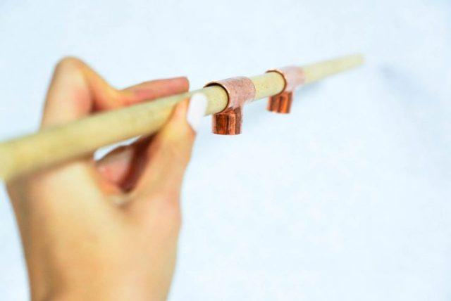 DIY copper bracelet holder-4