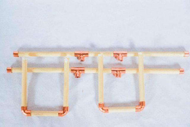 DIY copper bracelet holder-6