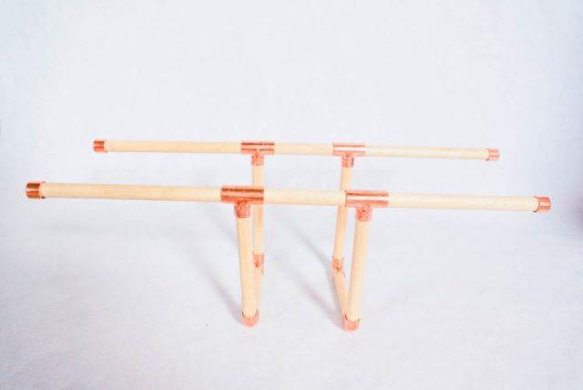 DIY copper bracelet holder-7