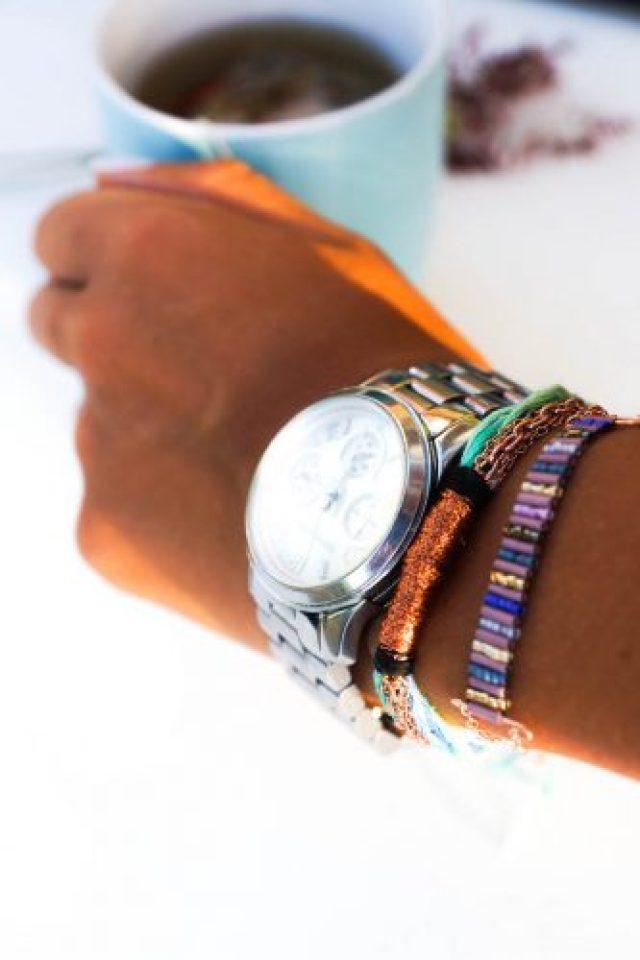 bracelet tissé bugles porté (5 of 11) copy