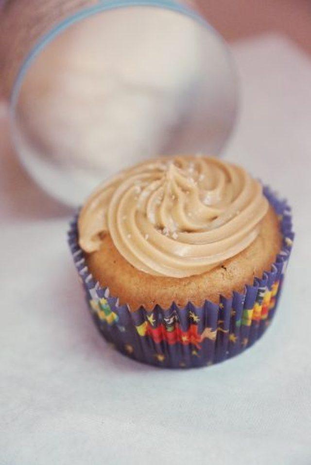 cupcake caramel salé toutseul