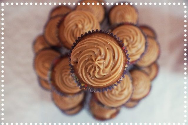 cupcakes vus de haut