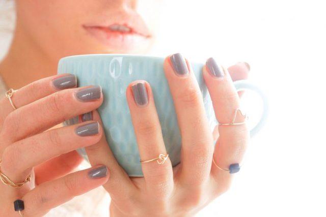 DIY dainty rings