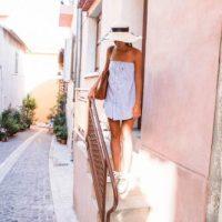 DIY robe bandeau avec une chemise d'homme