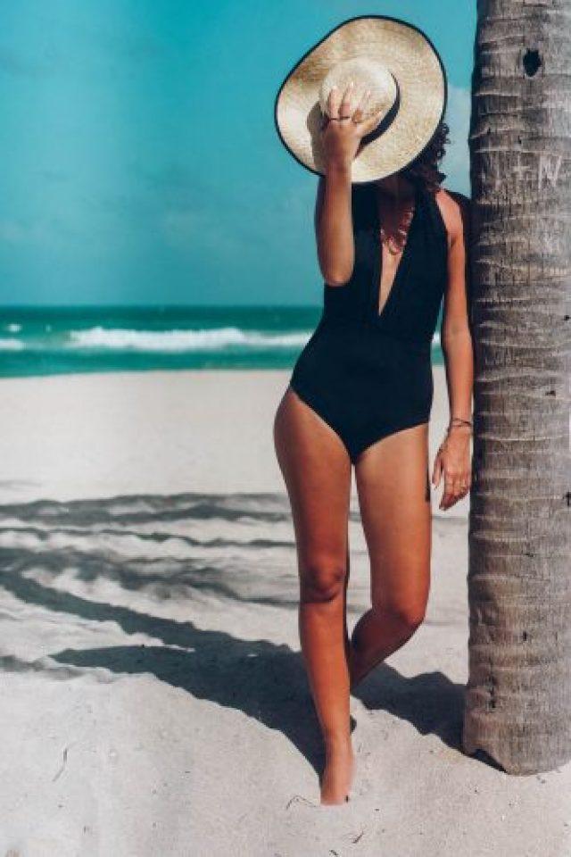 DIY one piece swimsuit