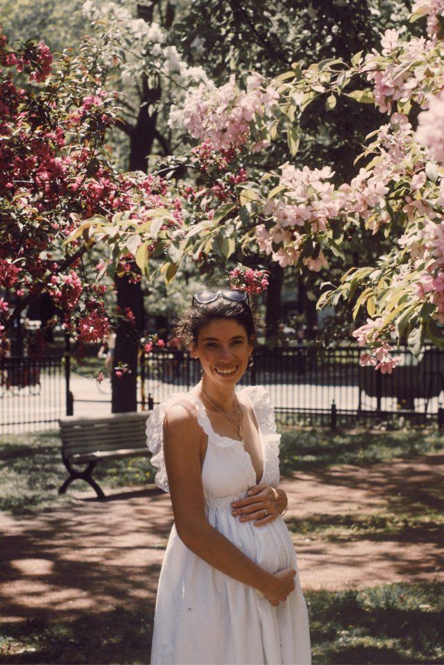 DIY robe à volants parfaite pour la maternité d'été (ou pas)