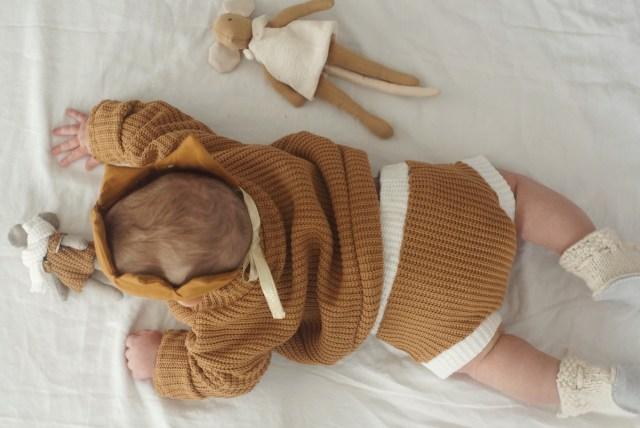 image enfant bloomer et pull en tricot