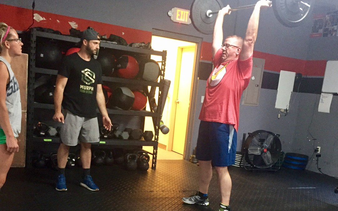 """What is an Out of Shape Old Man Doing in a CrossFit Class?"" Meet Mark!"