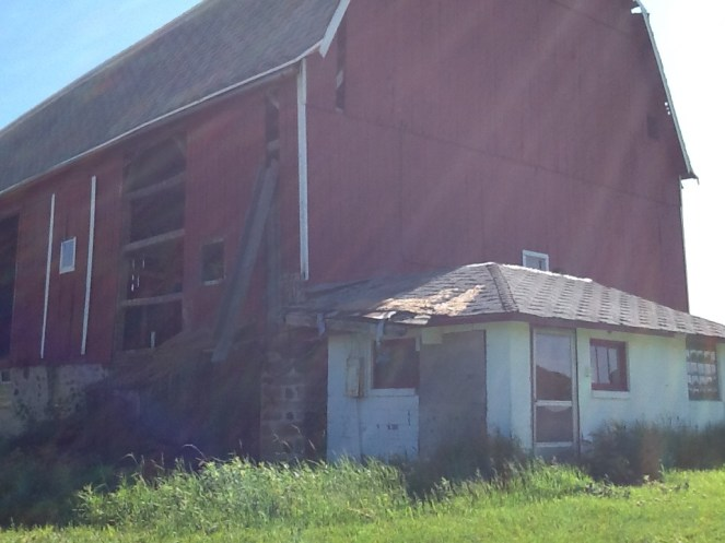 Taking Down the Barn