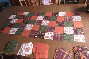 How to Make a Patchwork Table Runner: Part 1