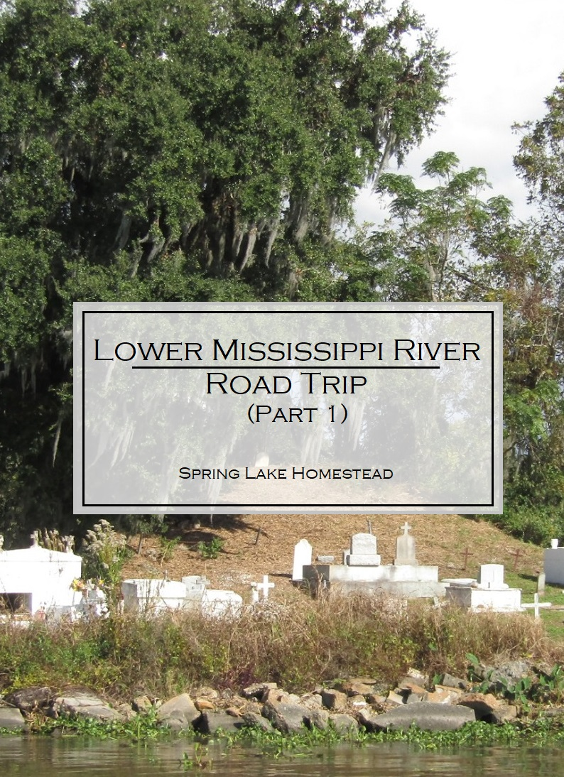 Lower Mississippi River Road Trip (Part 1)